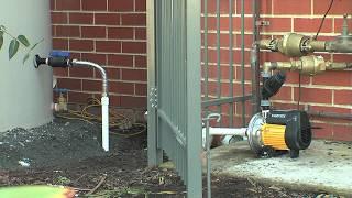 Installing a Rainwater Tank Part 4 - Supply