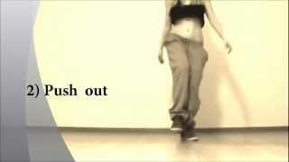 Профи обучение танцам от EHABY.Базовый Дансхолл (бёдра).