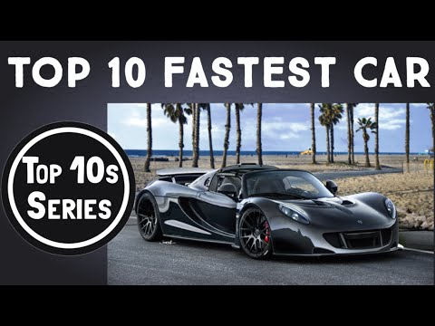Top 10 Fastest Street Legal Cars In The World 2015 February