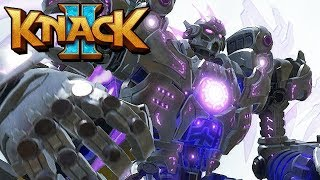 Knack 2 Gameplay German PS4 PRO - Titanen mit dickem Upgrade