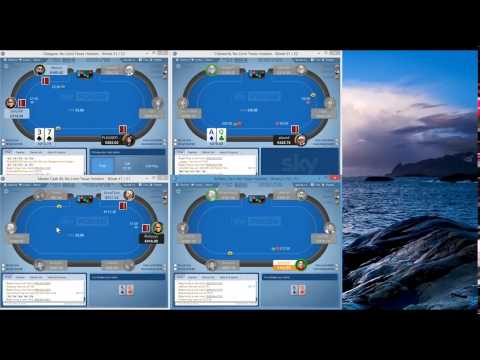 Sky Poker Mid Stakes Strategy £100 - £300NL