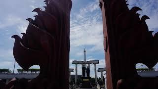 PERISTIWA SURABAYA MEMBARA DI DEKAT VIADUK  TUGU PAHLAWAN - SELAMAT HARI PAHLAWAN 10 NOVEMBER 2018