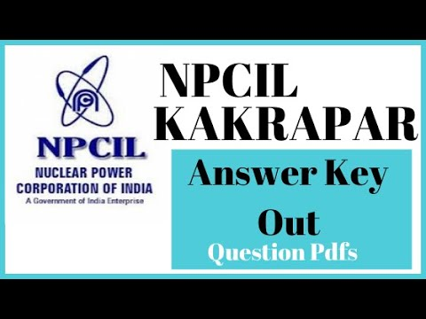 NPCIL Answer Key and Last Year Question| Aimed2Success