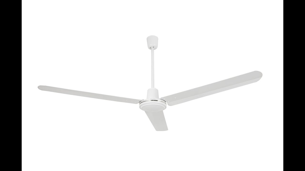 Industrial Ceiling Fan with 4 Speed Control