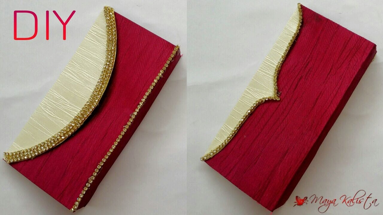DIY Crafts How To Make Paper Clutch Bag