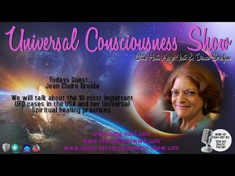 Jean Claire Broida ---  Universal Consciousness Show 12-28-18