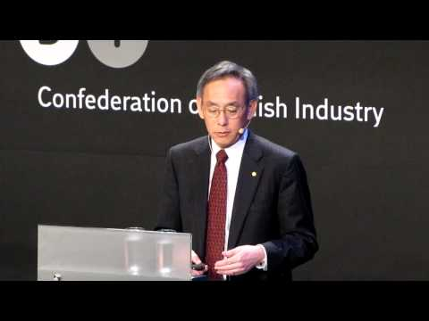 United States Secretary of Energy Steven Chu speaking at Bright Green in Copenhagen. Part 2