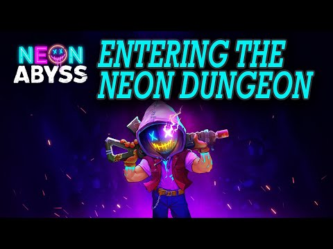 ENTERING THE NEON DUNGEON | Let's Play Neon Abyss | Part 1 Demo |