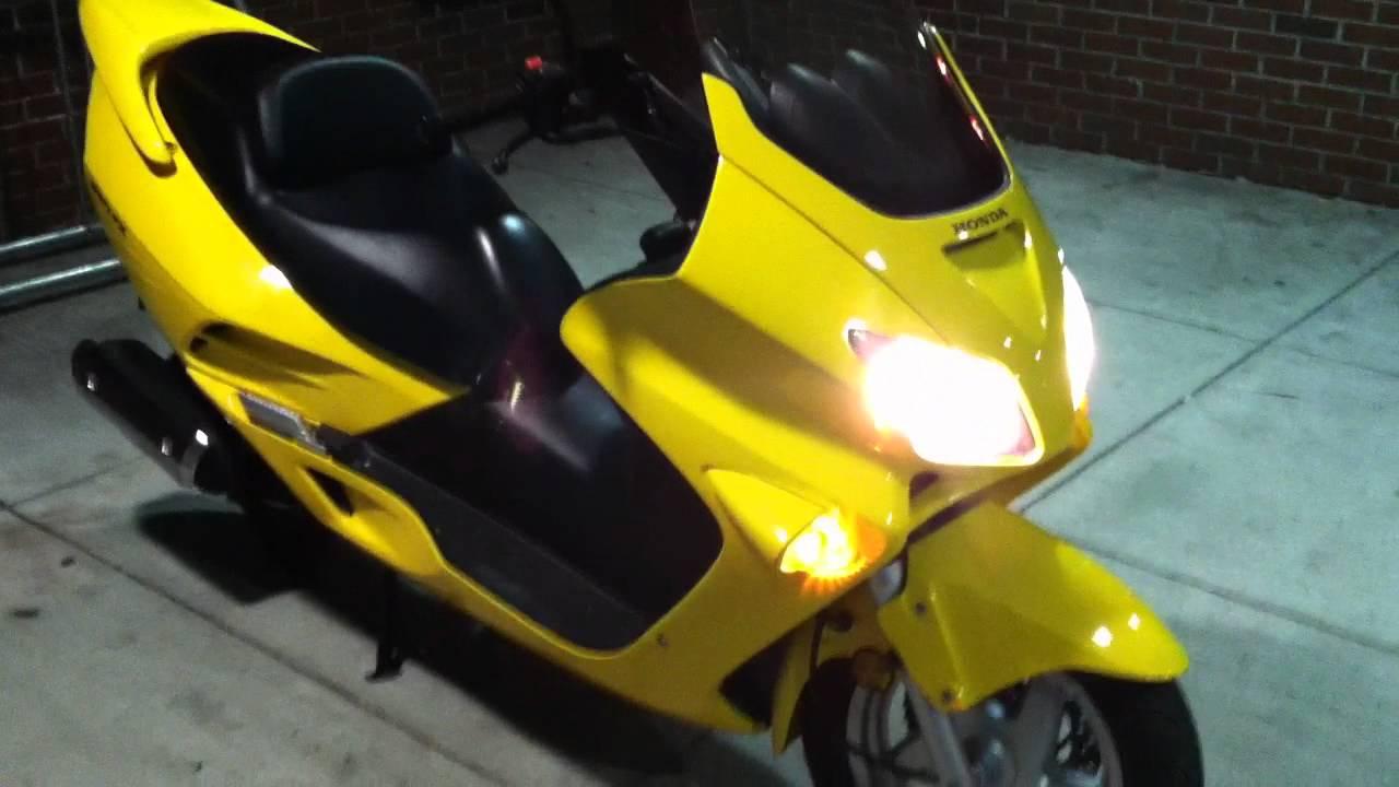 Honda Reflex 250cc Scooter - SOLD.MOV - YouTube