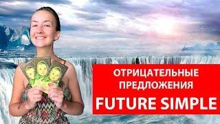 future Simple (простое будущее). Отрицательные предложения. Времена в английском языке