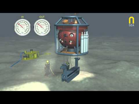 TUP Diving System animation film