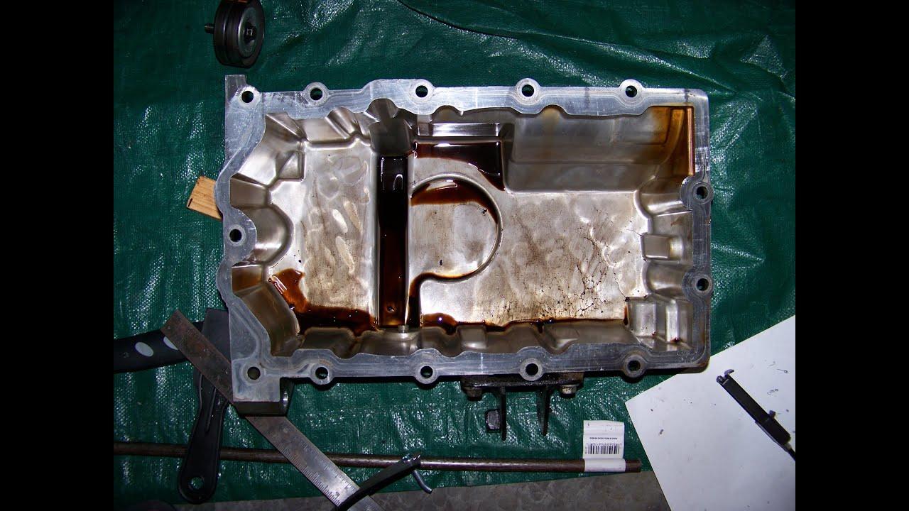 Mini Cooper S R53 Replacing Oil Pan Gasket Youtube