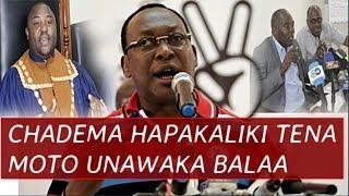 CHADEMA Hapakaliki! Wabunge  Said Kubenea, Antony Komu na Meya Bonifasi Jacob Ndani ya Vita Kali