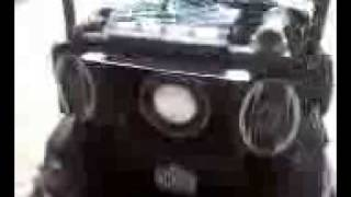 for sale ezgo gas lifted golf cart loud 1400 watt stereo system