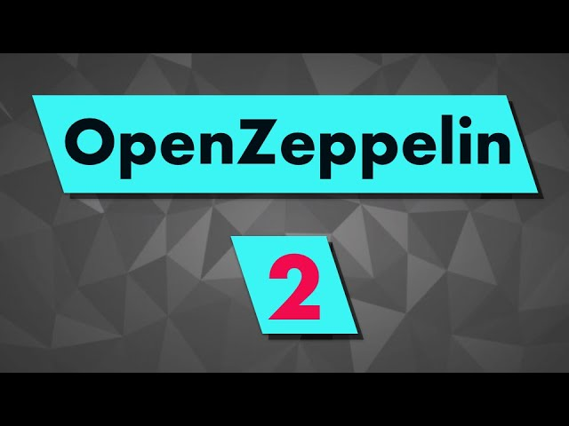 Install OpenZeppelin in a Truffle smart contract project