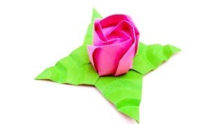 Origami Rose Tutorial! (jordi Adell) [hd]