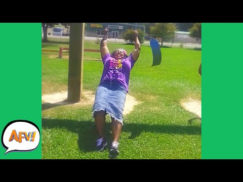 Swing, Swing, BUST! 😂 | Funny Fails | AFV 2021
