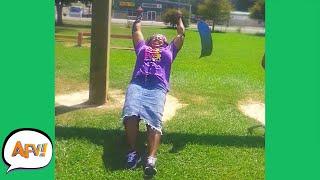 Swing, Swing, BUST! 😂   Funny Fails   AFV 2021