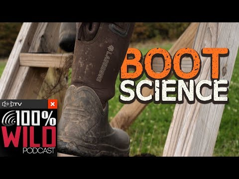 Boot Science & Tips To Optimize Your Hunting - 100% Wild Podcast