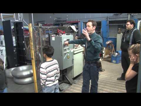 Captain's Blog 3 24 2015 4th Grade Electricity Demonstration