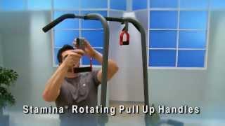 Stamina Rotating Pull Up Handles - Fitness Direct