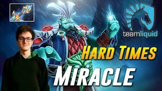 Miracle Kaya Storm Hard Times - Dota 2 Pro MMR Gameplay