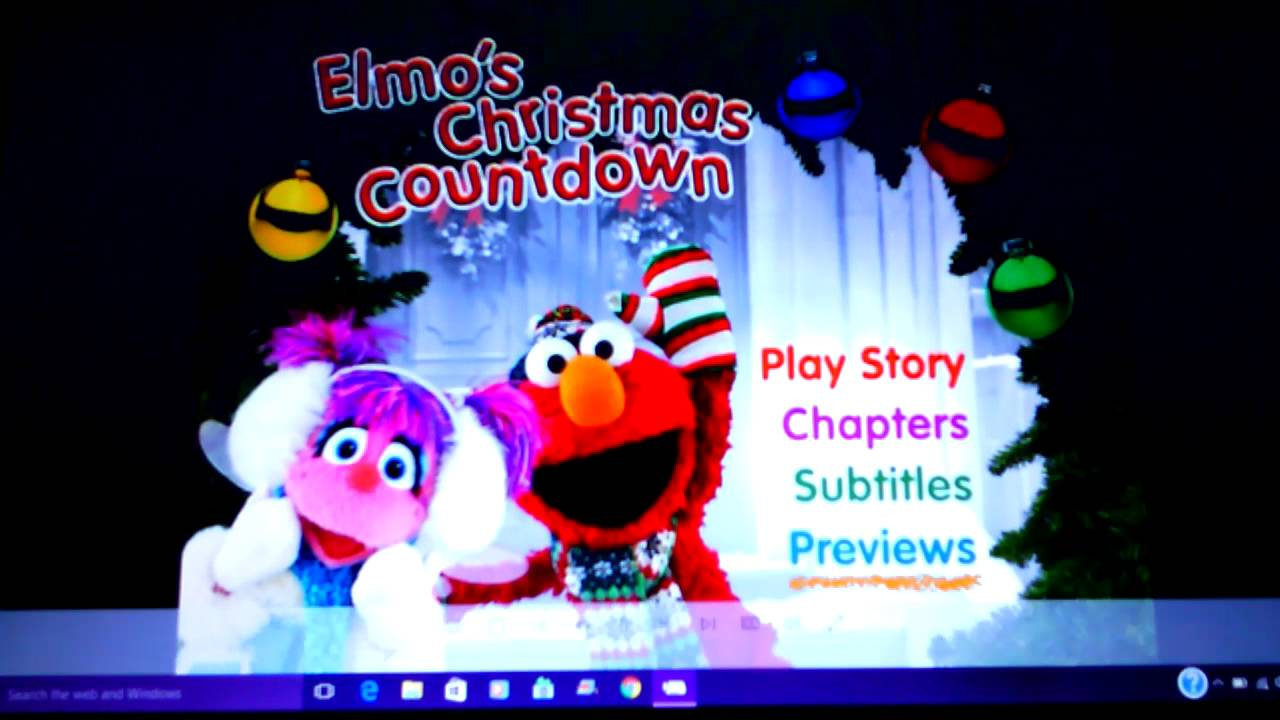 SESAME STREET- Elmo's Christmas Countdown - YouTube