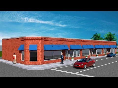 Rebuilding of Galen Street Shops - Watertown, MA