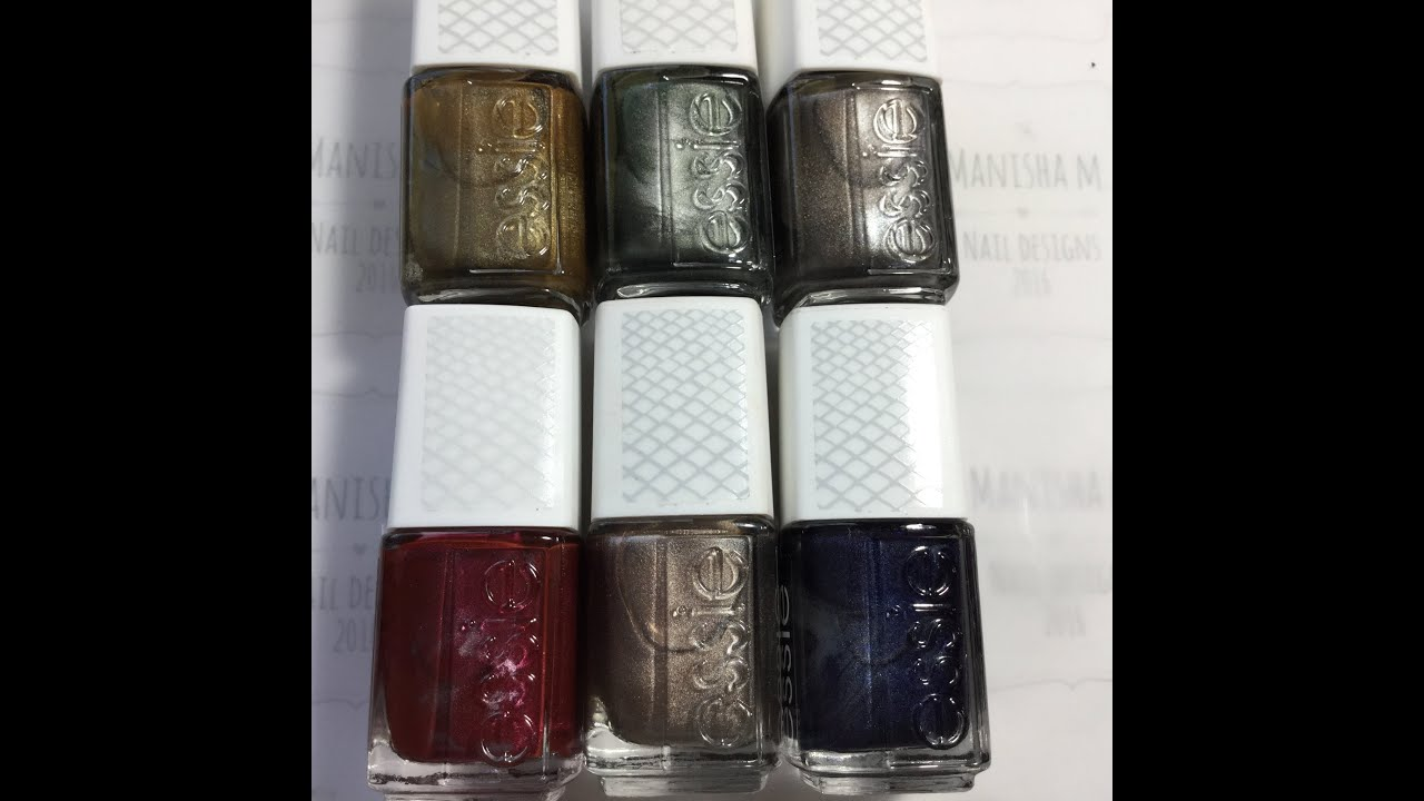 Essie Magnetic Polishes - YouTube