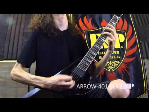 ESP Guitars: LTD Arrow-401 Demo with Jack Fliegler
