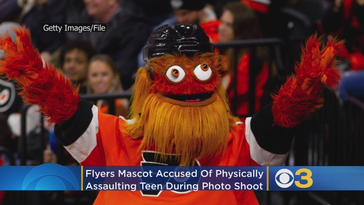Philadelphia police investigate claim that Flyers' mascot Gritty ...