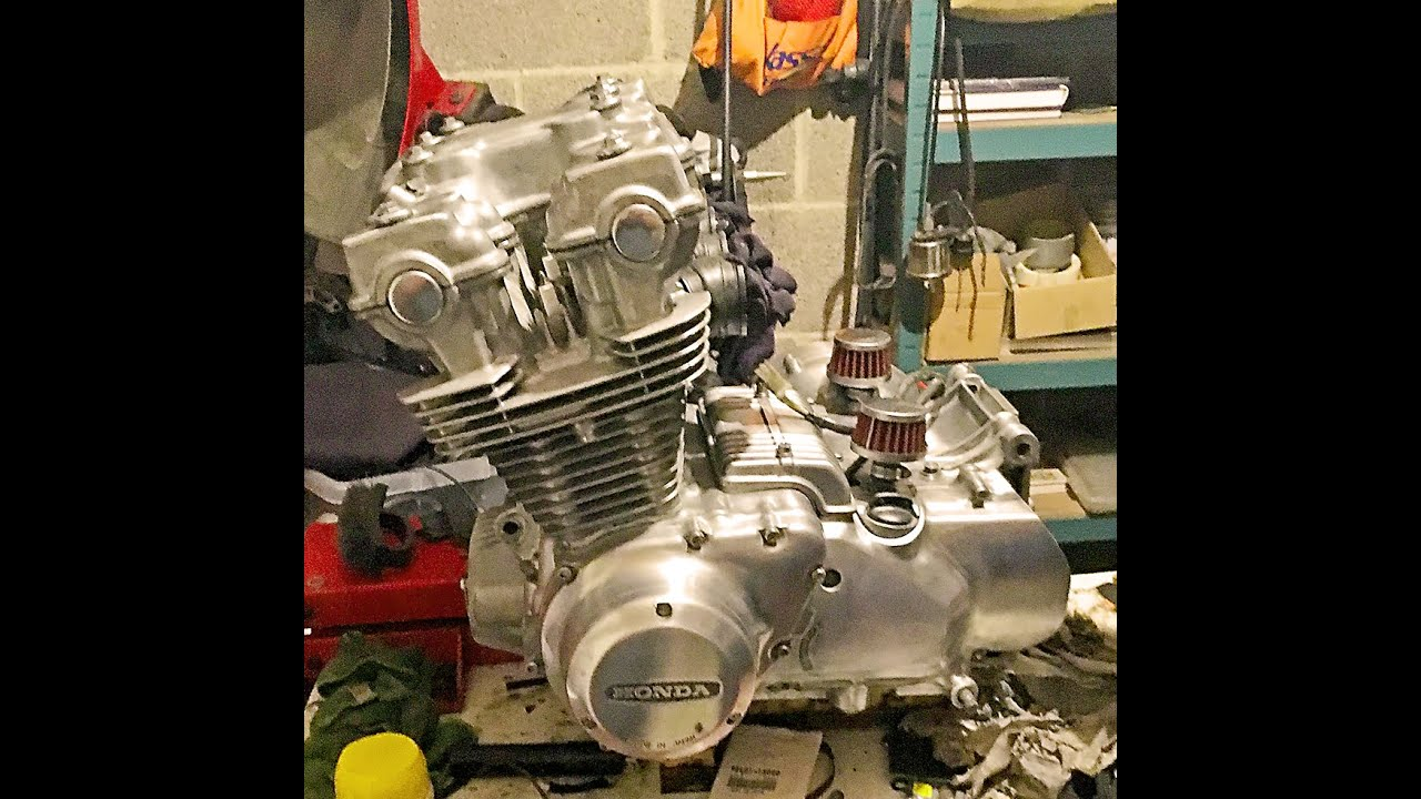 how to go about honda cb750 dohc cafe racer engine build