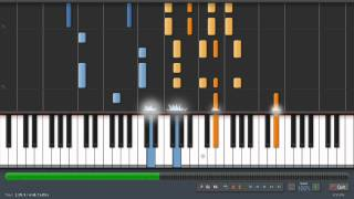 Coldplay - Fix You - Adrian Lee Version (piano tutorial)