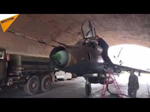 Frappes US en Syrie: la base de Shayrat a repris son activité