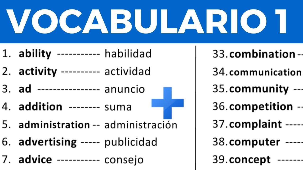 Como Pronunciar Muñeca En Ingles: Vocabulario En Inglés Con Pronunciación Lección 1 De 8