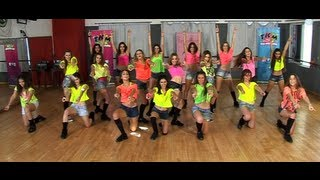 Coreografía de  Starships de Nicki Minaj, versión Glee / TKM LIVE