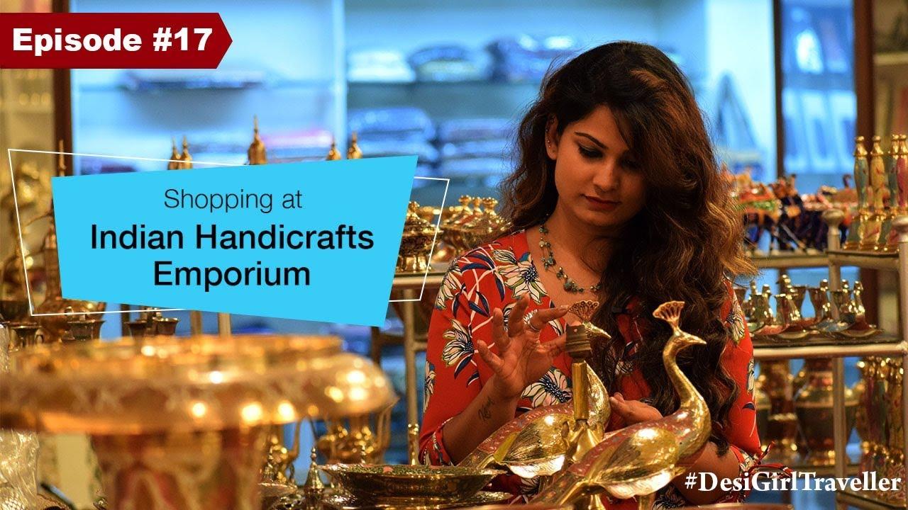 Handicraft Store In Delhi India Indian Handicrafts Emporium