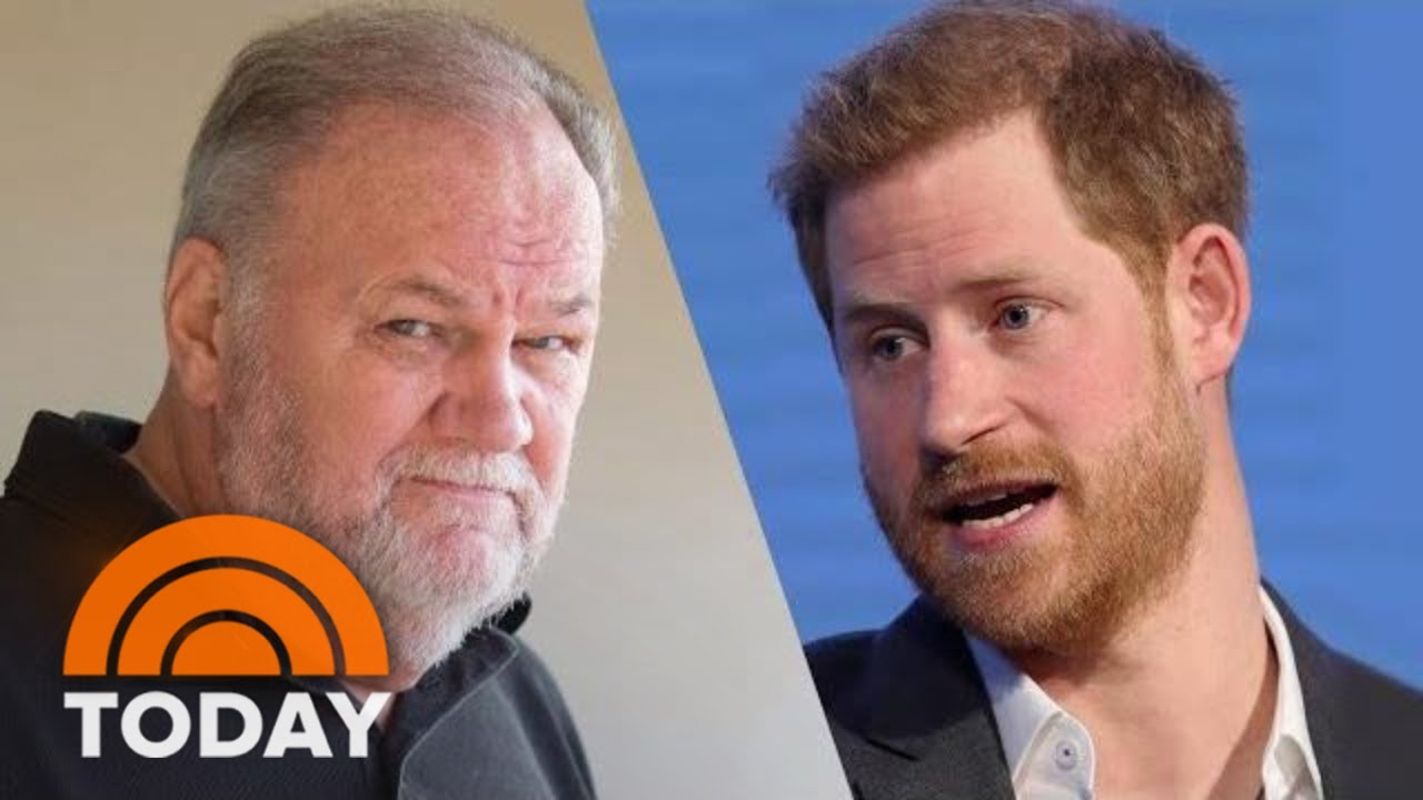 Thomas Markle Says Hung Up On Prince Harry When Talking About Staged Photos | TODAY