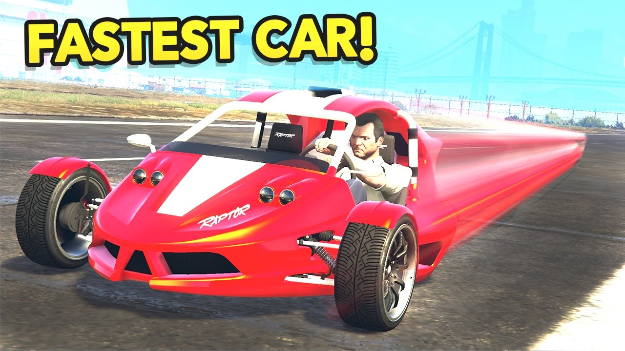 New Fastest Car In Gta