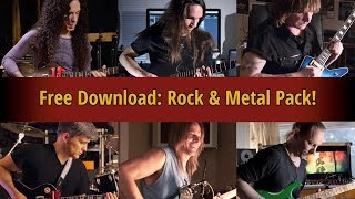 Free Download - Rock and Metal Sampler Pack!
