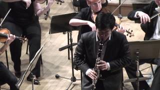 Sang Yoon Kim plays W.A.Mozart - Clarinet Concerto in A Major K.622