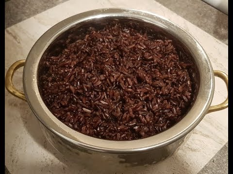 How to cook black rice on stove top