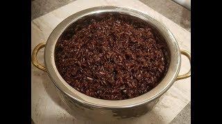 How I Cook BLACK RICE (EASY & Super Healthy) - Steven Heap