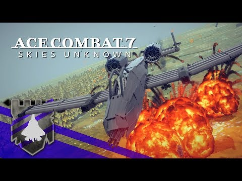 Ace Combat 7 Skies Unknown but in BESIEGE v 0.60 | Theater of Flights #77