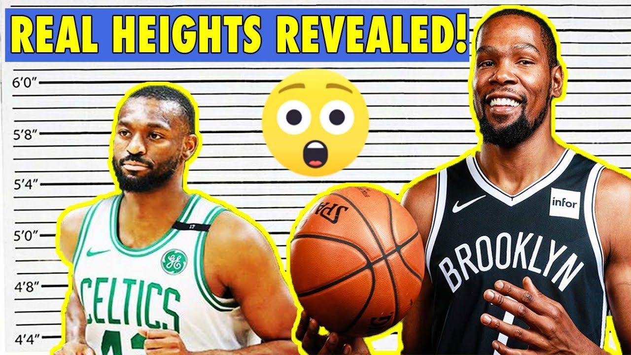 Nba Players Real Heights Finally Revealed Youtube