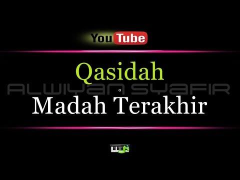Karaoke Qasidah - Madah Terakhir