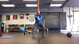 Body weight squats | Mobility stick squats