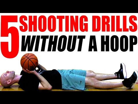 5 Shooting Drills WITHOUT A HOOP! How To Shoot A Basketball Better