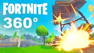 FORTNITE 360 video Battle Royal gameplay Google Cardboard VR Box