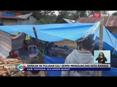 Pasca Diguncang Gempa 5,5 SR Warga Mamasa Masih Mengungsi di Ruang Terbuka - LIS 06/11 Mp3
